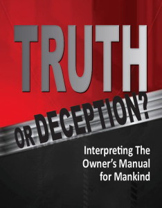 Truth or Deception